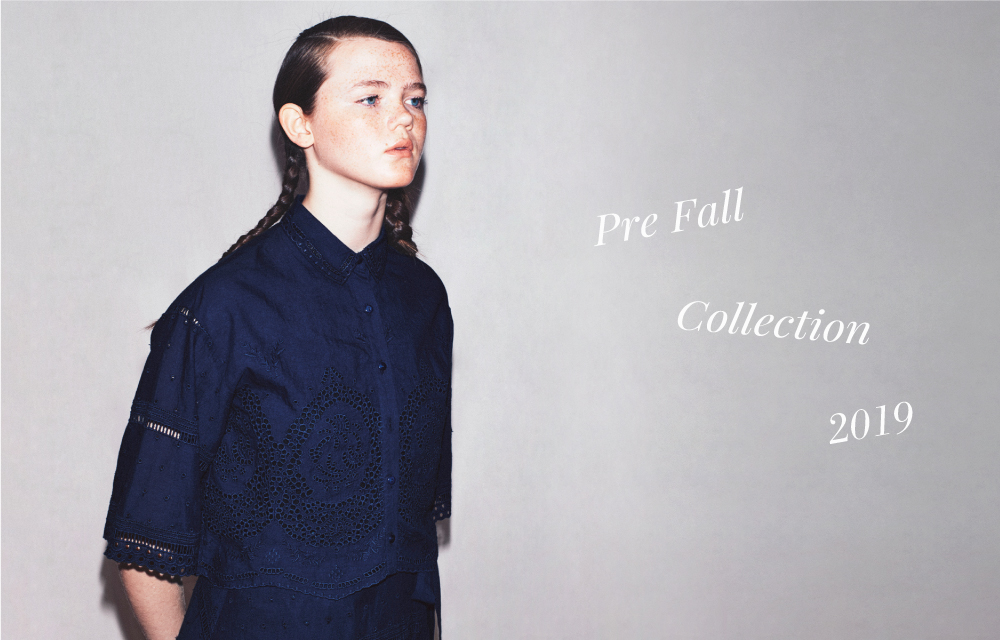 ISSUE.35 PRE FALL COLLECTION 2019