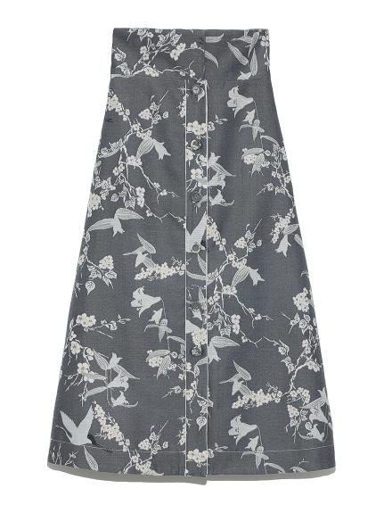 花鳥風月スカート(BLU-F)