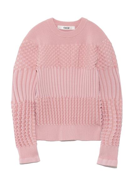 リンクス編みセーター